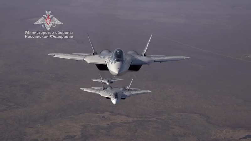 Вне законов физики Лётчики ВКС полностью освоили истребители Су 57