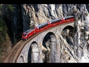 Bernina Express Scenic Train Ride Switzerland HappyRail
