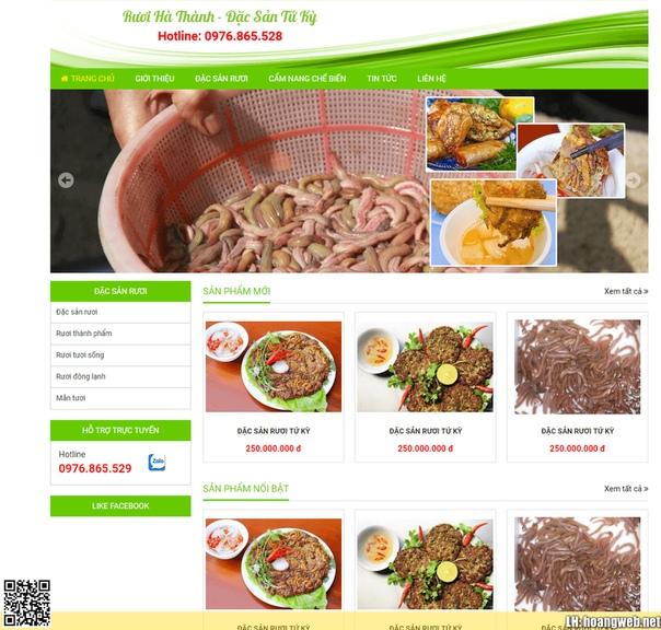 Web đồ ăn thumbnail