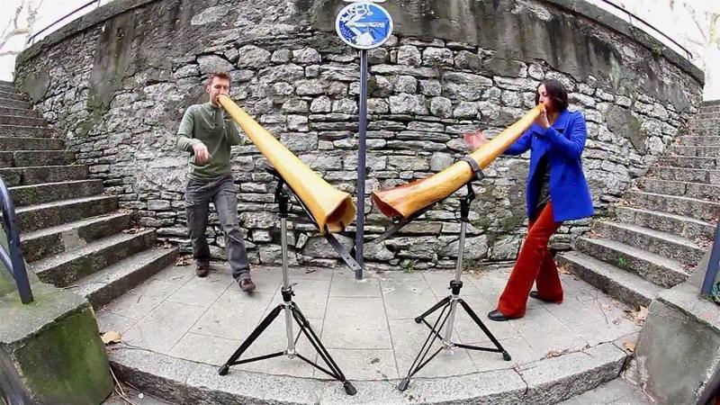 Adèle Zalem Didgeridoo Duet