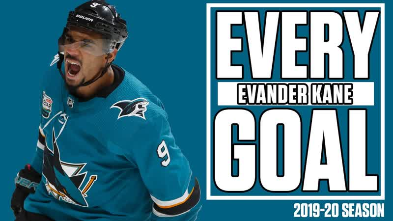 Every Evander Kane Goal From The 2019 20 Far