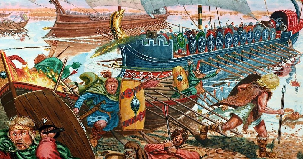 Варвары и флот Рима