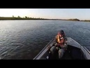 Идем по р Герасимовка Лодка Вятбот 430С Ямаха 30 HWCS