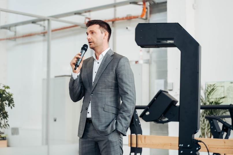Алексей Южаков презентует «Термоконтроль» на онлайн-конференции ТАСС