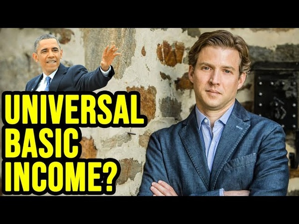 Barack Obamas Senior Adviser on Innovation Discusses Universal Basic Income