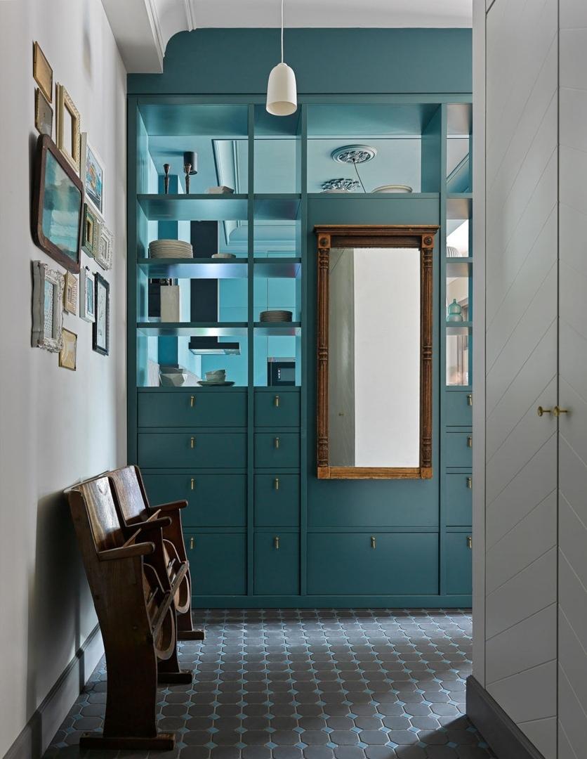 Квартира по проекту бюро BIGO в Москве, 120 м² || 01