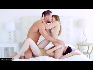 Miranda Miller, Johnny Castle, Kimmy Granger Group, Sunburn, Riding dick, Shaved, Licking eggs, Cum on face, Cunniling