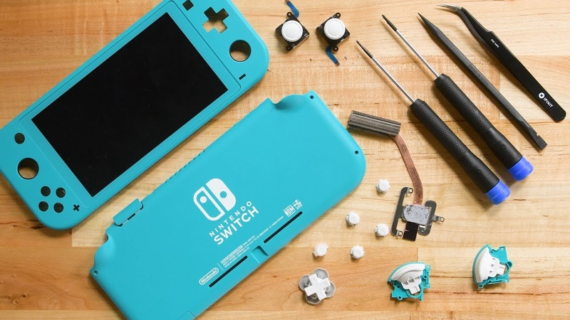Nintendo Switch Lite Teardown Hardware Upgrades Repair Downgrades