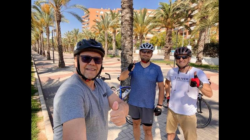 Поездка по Испании на велосипедах, провинция Аликанте, Бык с яйцом, ТАЙМЛАПС И ФОТО, Сергей Езовский