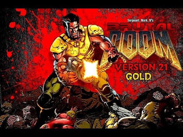 Brutal Doom v21 Gold PC Gameplay Download Link