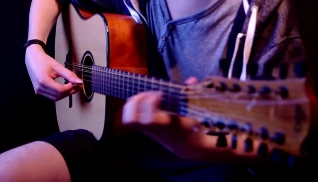 The Witcher 3 Tribute Guitar Medley by Lukasz Kapuscinski · coub коуб