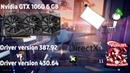 GTX 1060 6GB l New Driver vs Old l 430.64 vs 387.92 vs 391.35