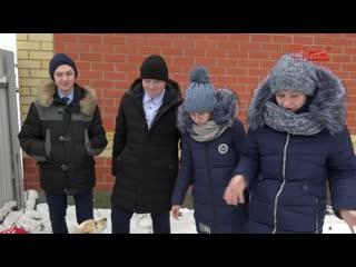 Школьники-спасатели из Eльников