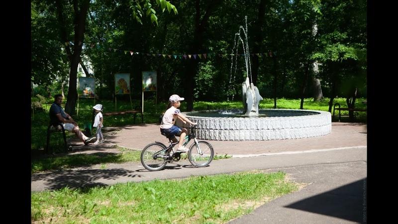 Когда откроют ФОК что будет с городской баней и как благоустроят парк в городе Дрезна