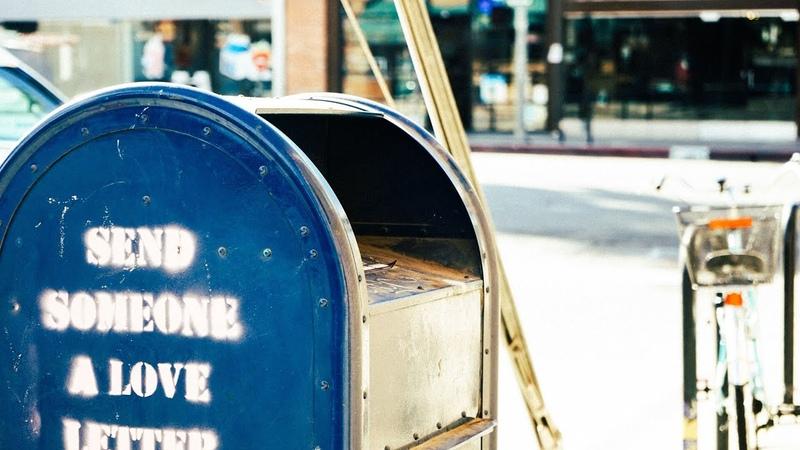Post Office Stamp Postmark Postal Code Delivery Address Write Stick Envelope Mailbox Express