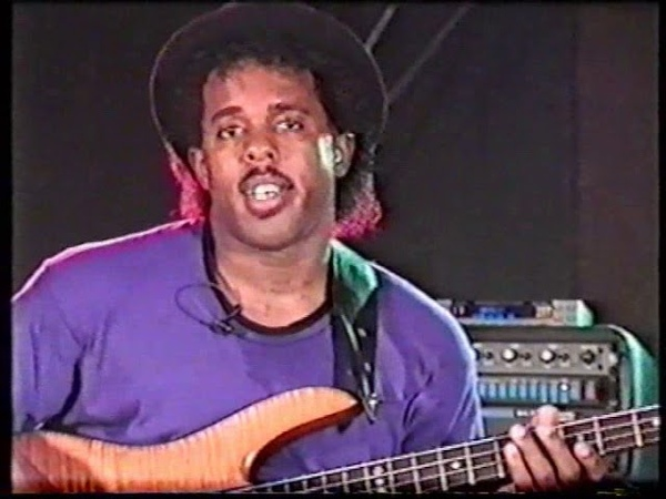 Victor Wooten - Super Bass Solo Technique 1992 (rus)