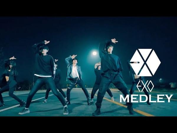 4X4 엑소 메들리 EXO DANCE MEDLEY 댄스커버 I DANCE COVER 프로듀스101 변현민
