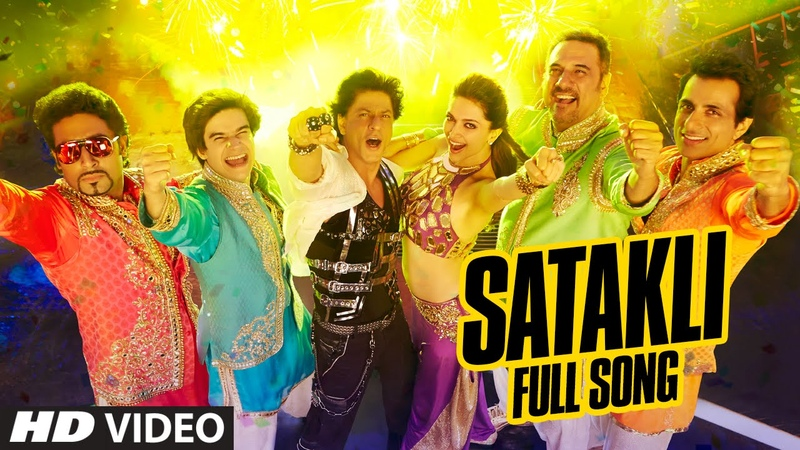 OFFICIAL 'Satakli' FULL VIDEO Song Happy New Year Shah Rukh Khan Sukhwinder Singh