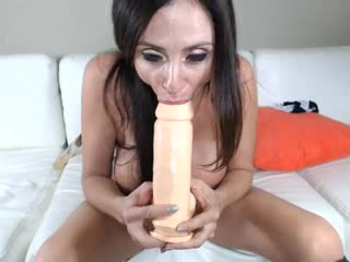 Ariella Ferrera [Big tits, Big ass, Milf, Mom, Latina, Brunette, Webcam, Solo, Masturbation, Toys, Orgasm, Dildo]