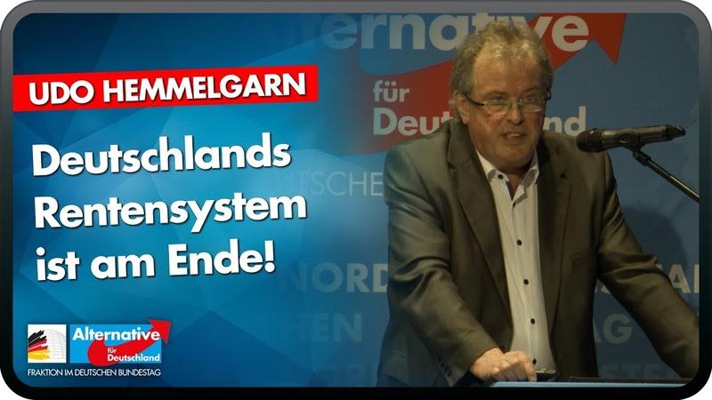 Deutschlands Rentensystem ist am Ende! Udo Hemmelgarn AfD Bürgerdialog in Mettmann