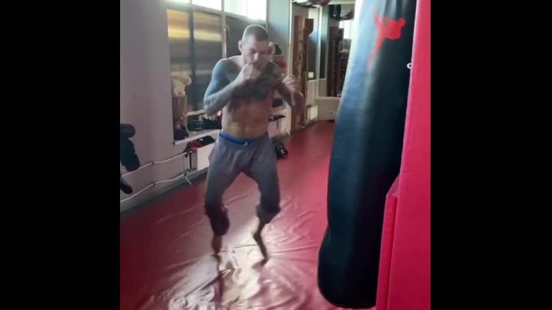 Наработка лоукика от Андрея Басынина Muay Thai Kickboxing Fight Единоборства