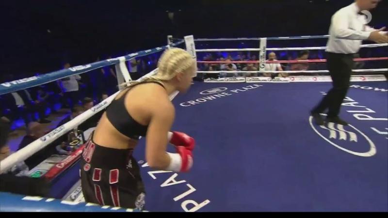 Dina Thorslund - K.O. in first round (march 18 2017) [HD]