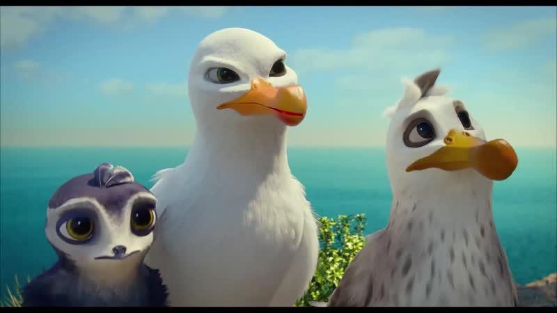 Птичий дозор Manou the Swift (дублированный трейлер премьера РФ 12 сентября 2019) 2019,мультфильм,Германия,6