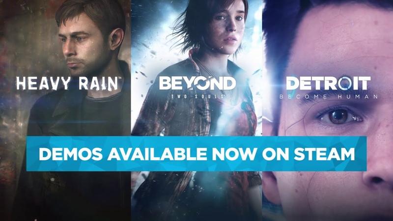 Steam Announcement Trailer - Detroit Become Human, Beyond Two Souls, Heavy Rain | Quantic Dream