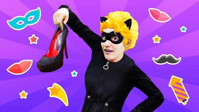 Kostüm partisi Barbie ve Ümit Ladybug Miraculous konsepli partiye hazırlanıyorlar
