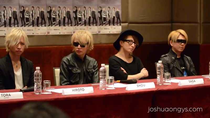 Pt 2 A9 Alice Nine Re birth Tensyou 2015 Press Conference in Kuala Lumpur