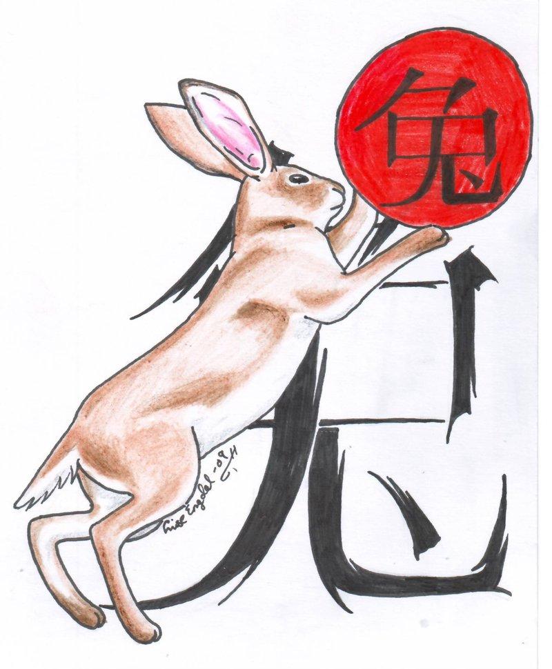 кролик знак зодиака картинка гребни очень