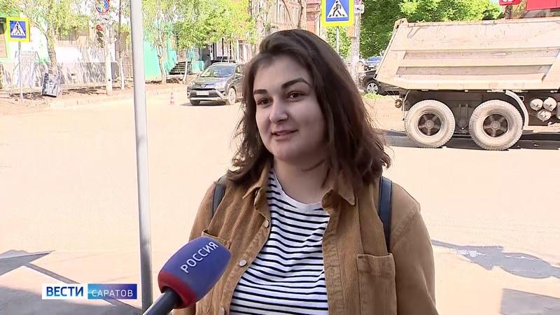 В Саратове продолжается большой ремонт тротуаров