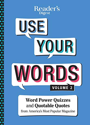 Readers Digest Use Your Words vol 2 - Unknown