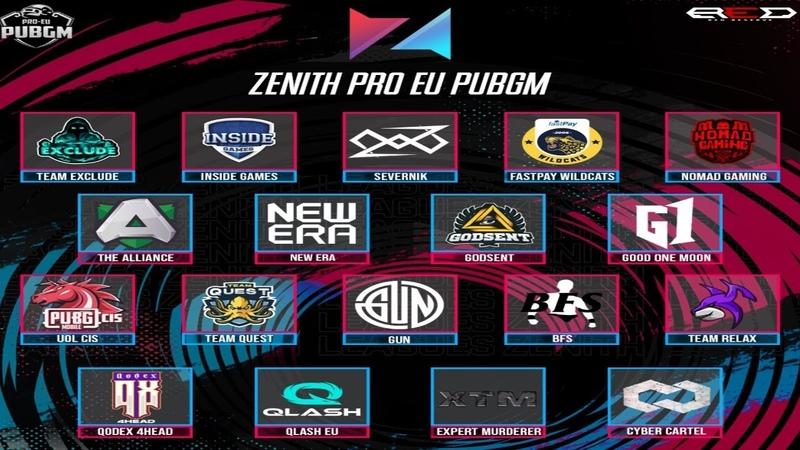 Zenith PROEU Scrims PMCO PMWL teams 14 07 2020 🔴 Delay 3 Min 🔴 Caster LastHero