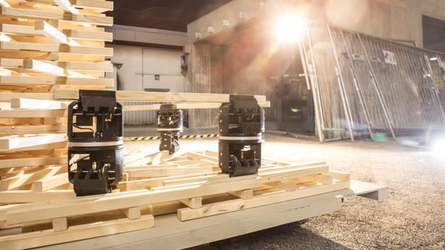 ITECH 2018 Distributed Robotic Assembly System for In Situ Timber Construction