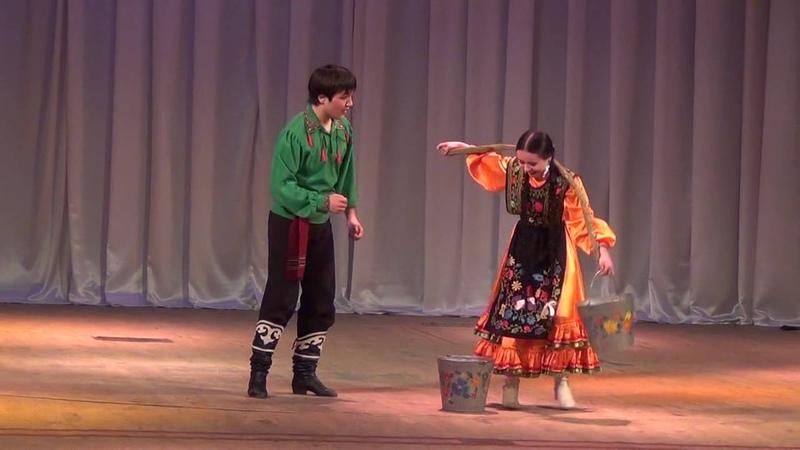 Башкирский танец У ручья Постановщик Файзи Гаскаров