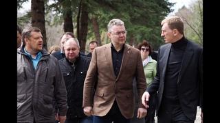 Владимир Владимиров с рабочей поездкой посетил Ессентуки