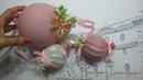 Pallina di Natale fai da te facilissima Christmas ball decoration