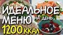 ПРИМЕР ПИТАНИЯ на 1200 ккал в день Что есть в течение дня МОТИВАЦИЯ НА ПОХУДЕНИЕ система питания