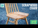 Chair made from Scrap Wood