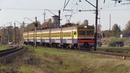 Электропоезд ЭР2-1307 близ ст. Тукумс-2 ER2-1307 near Tukums-2 station