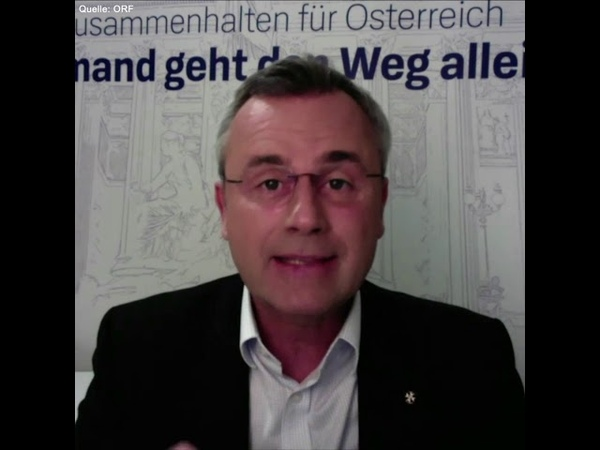 Norbert Hofer Ein nationaler Schulterschluss sieht anders aus