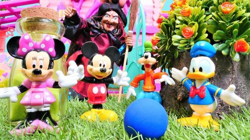 Disney çizgi film oyuncakları. Mickey Mouse ve arkadaşları sihirleniyor