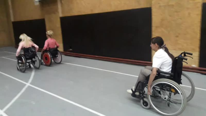 соревнование на колясках