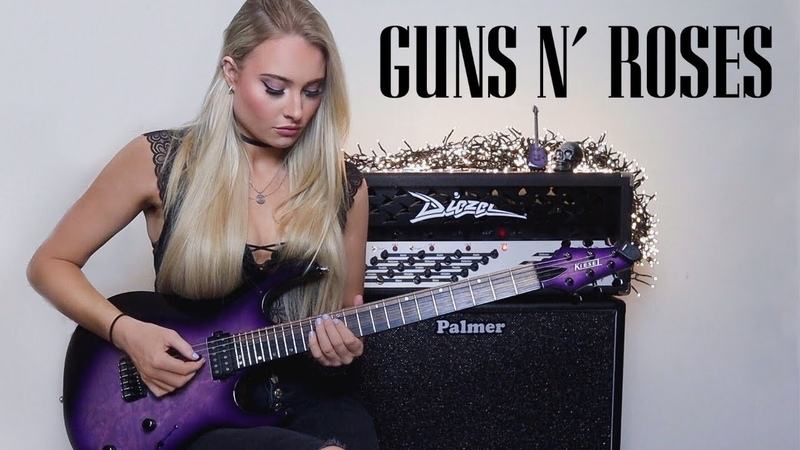 Guns N' Roses Sweet Child O' Mine SHRED VERSION