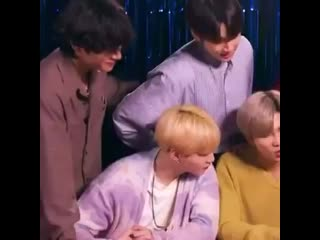 Taehyung said no space allowed between