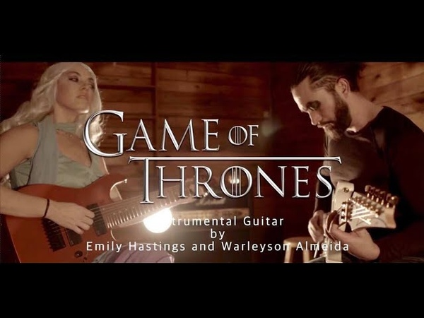 Game of Thrones Metal Cover Khaleesi and Khal Drogo Costume