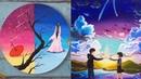 Đỉnh cao của họa sĩ Trung Quốc với nghệ thuật vẽ tranh 09 ❤ Most Amazing Art Drawing Video ❤