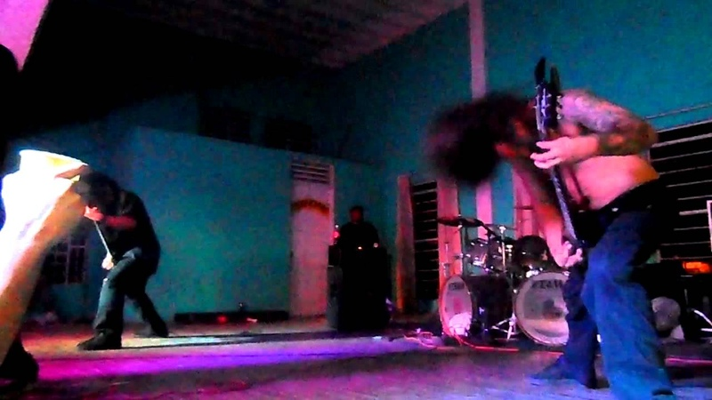 Disgorge USA Revelations XVIII She lay gutted Live at Campeche México 16 11 2012