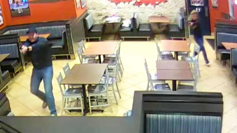 Cop Couple Out to Eat Stop Man from Robbing Restaurant